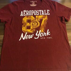 Men's Garnet Aeropostale T-Shirt